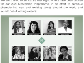 """""""Dys"""" (and me) selected for the 2021 Madeleine Milburn Mentorship Programme"""