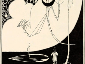 Ink drawing from Salome by Aubrey Beardsley