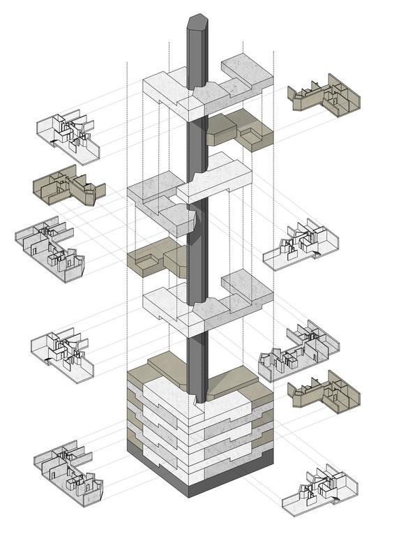 Axonometry Apartments