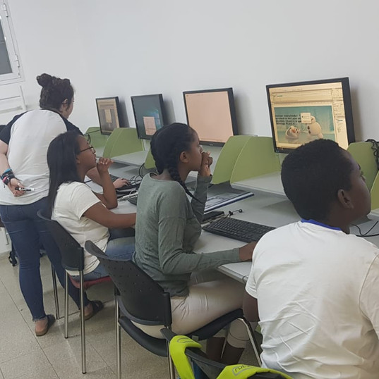 Youth Program students