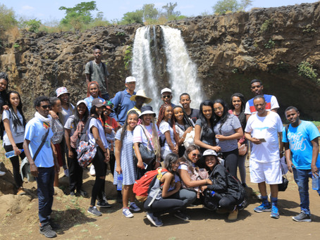 LOF Youth Program Graduates discover their roots