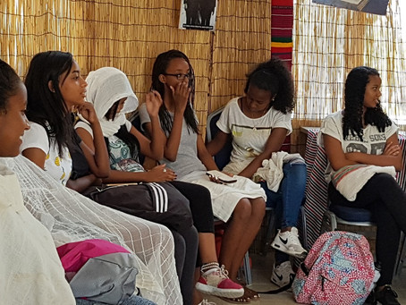 LOF Youth connecting with their heritage
