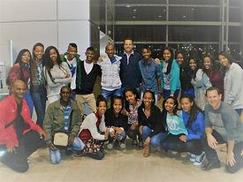 לפני הטיסה למסע שורשים באתיופיה של מנהיג