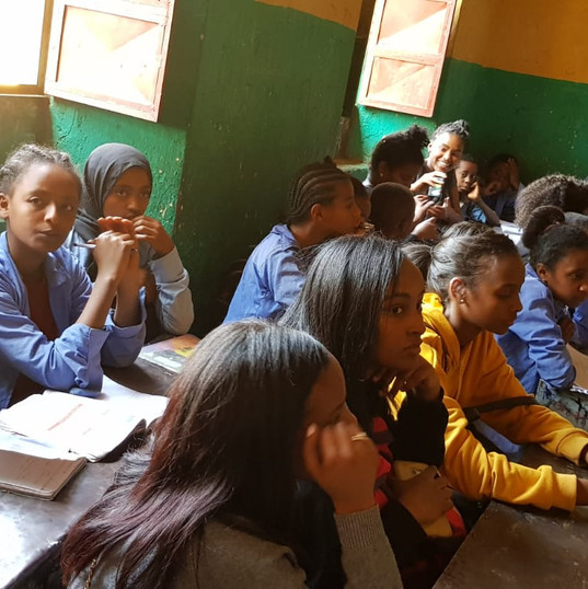 Roots Trip visits school in Ethiopia