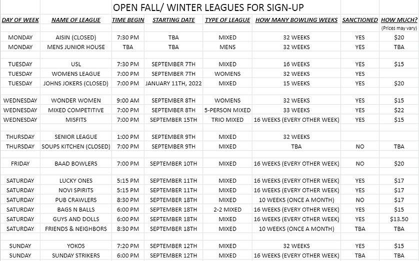 Open fall winter leagues for sign up.PNG