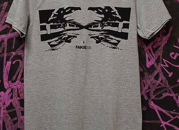 'Rainey Daze'  T-shirt Sports grey