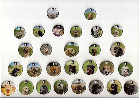 Personalised Dog Breed Discs