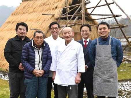 うど小屋の「三田うど」特別料理フェア開催