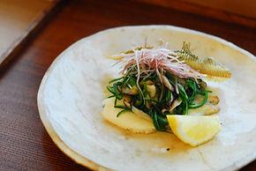 こにし家 「入榮」さんの料理のオマージュ