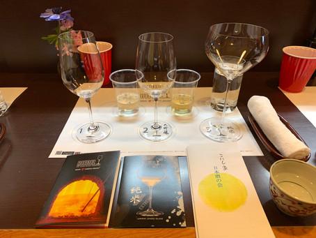 第1回「こにし家 日本酒の会」の様子