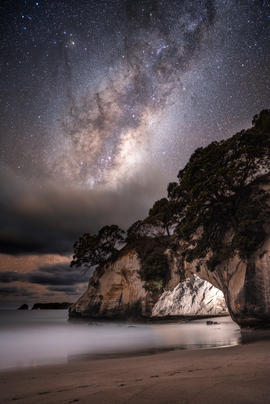 Cathedral Cove Glow