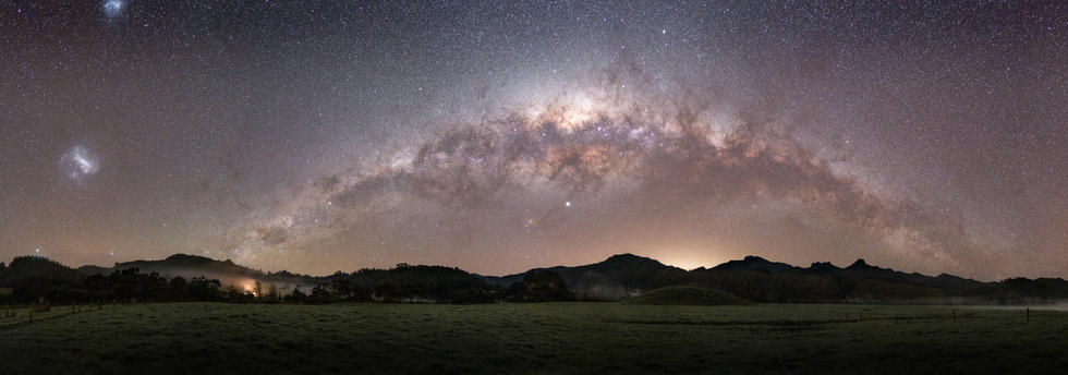 Milky Way over The Pinnacles