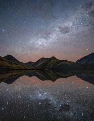 Moke Lake Reflections