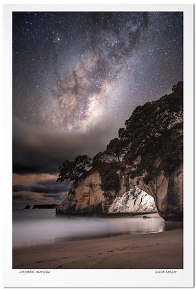 [Print] Cathedral Cove Glow
