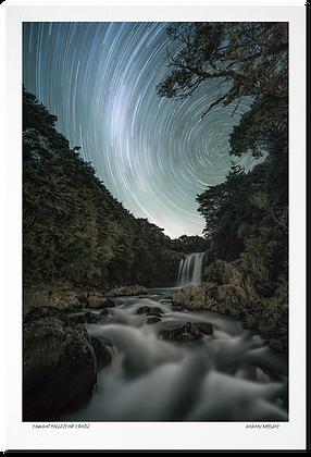[Print] Tawhai Falls Star Trails