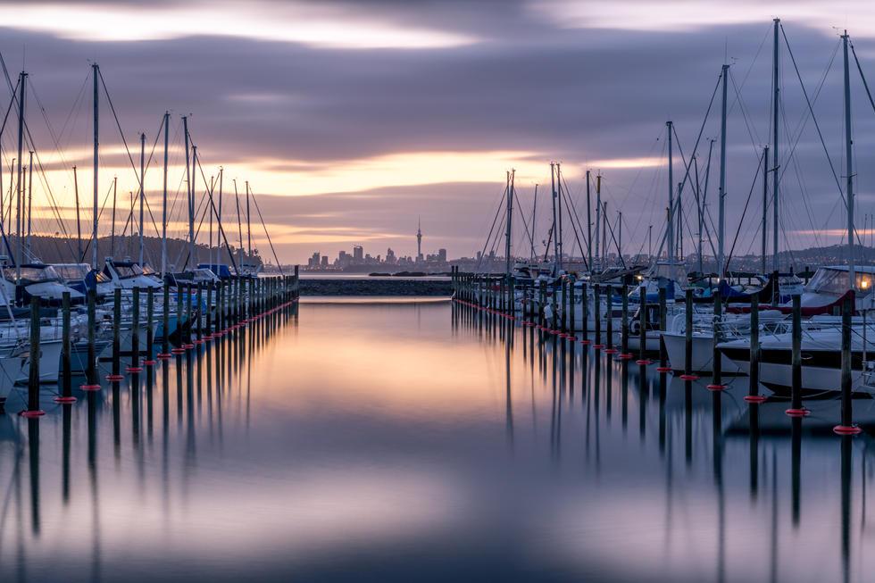 Hobsonville Marina Sunrise