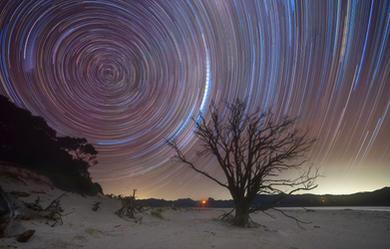 Matarangi Star Trails