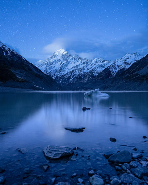 Mt Cook Blue Hour