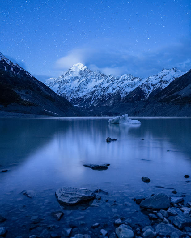Mt Cook Blue Hour