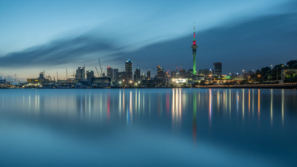 Auckland City Morning