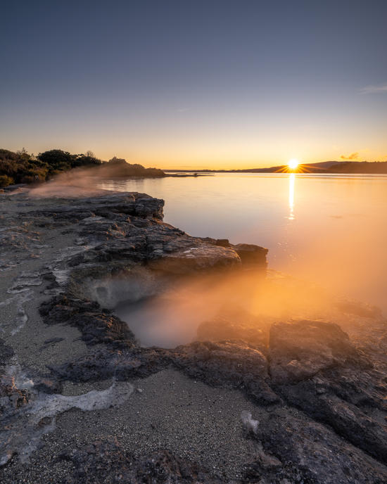 Otherworldly Lake Rotorua