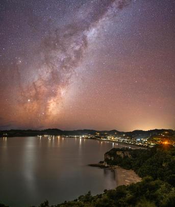 Cooks Beach Milky Way
