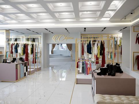 Шоу-рум бренда одежды