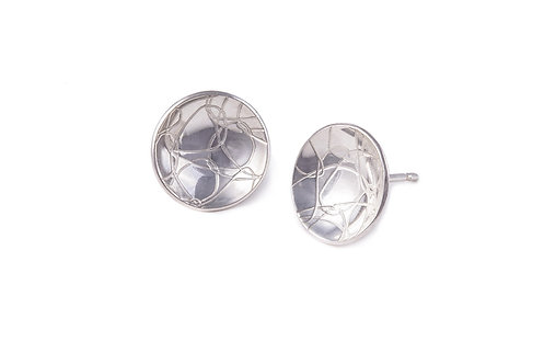 Domed Circle Studs