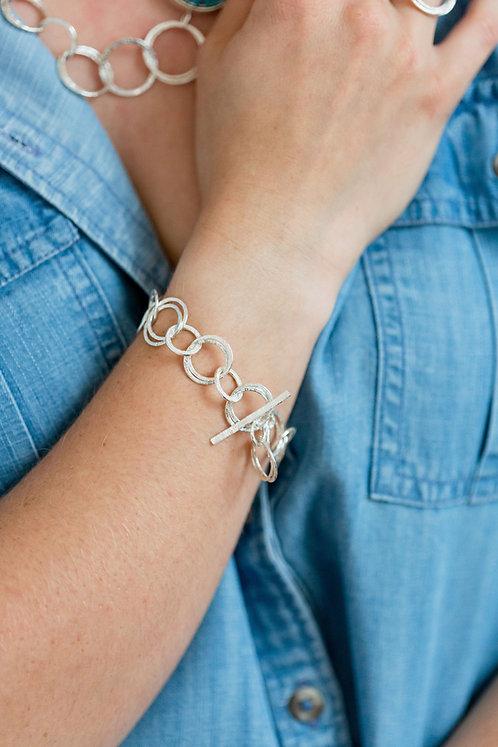 Hoop Cluster Bracelet