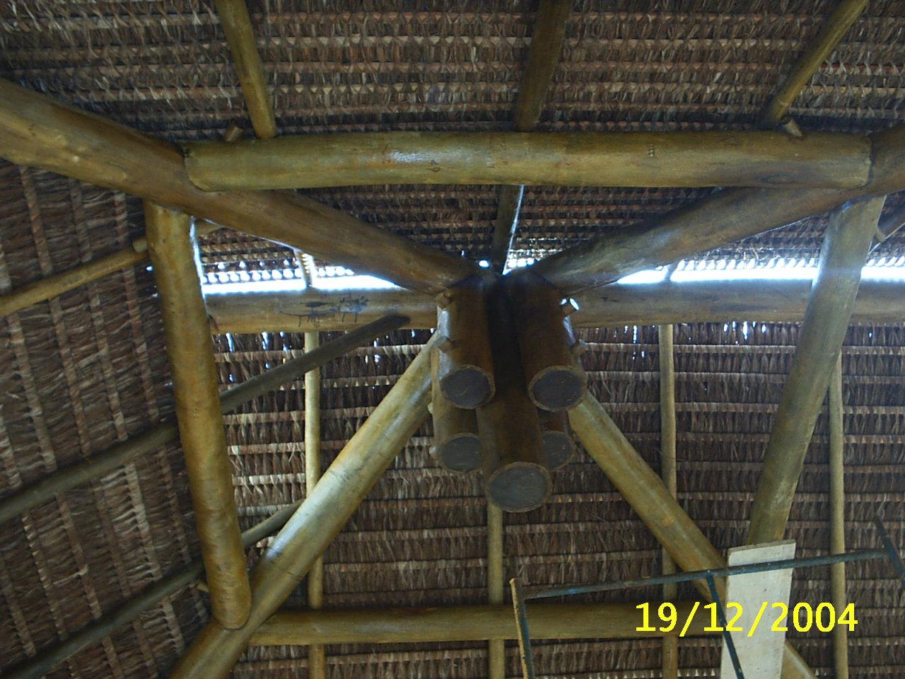 Detalhe de apoio da estrutura