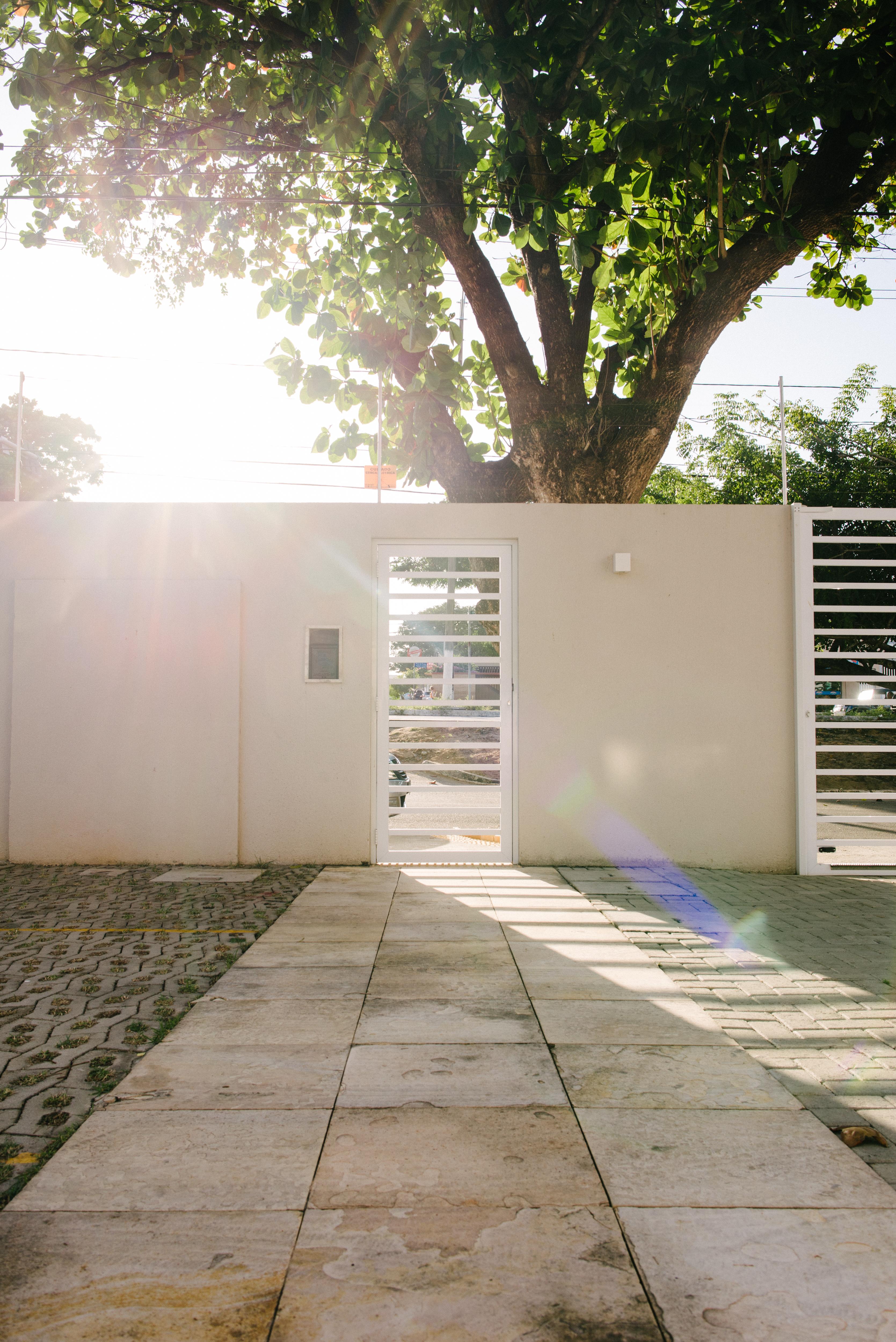 Portões de acesso