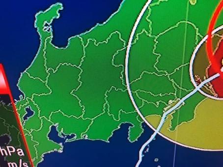 台風15号の影響について