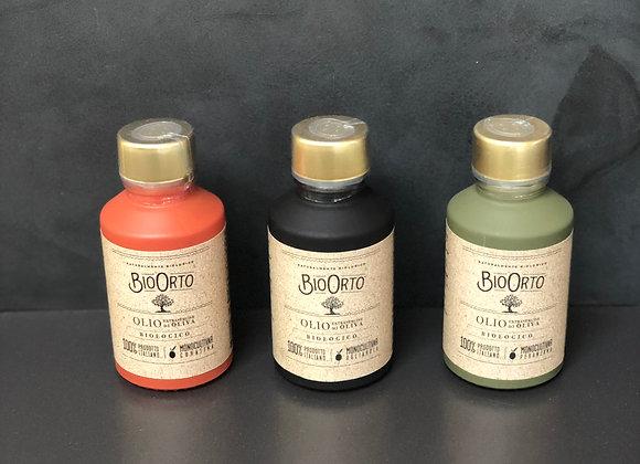 Set Bio Orto Olivenöl, 3 x 100 ml