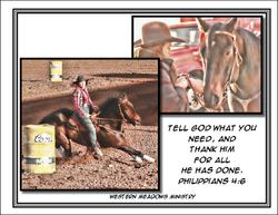 Barrel Poster #8 Tell God! Thank God
