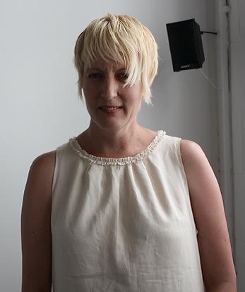 Image of artist Sarah Harvey