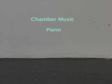 Still taken from Sarah Harvey's Chambers sound art exhibition