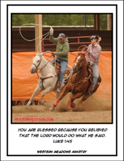Rodeo #8 Blessed by Belief
