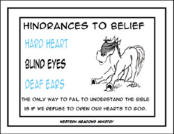 Ranch #2 Hindrances To Belief