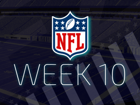 Surprising Week 10 NFL Schedule