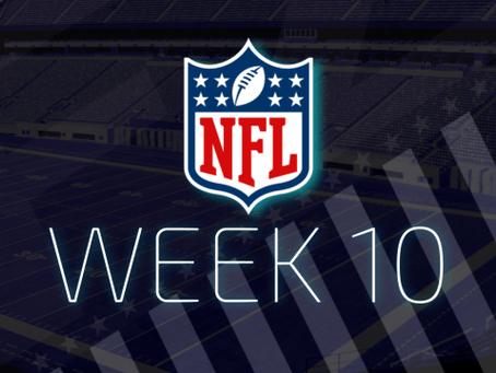 Surprising Week 10 NFL Schedule