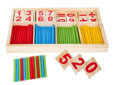 Math Number Magic Stick Set