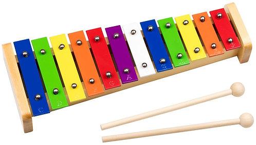 Colour Glockenspiel (8-15 Keys)