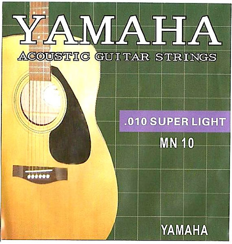 YAMAHA Acoustic Guitar Stings (0.10, Packed Separately)