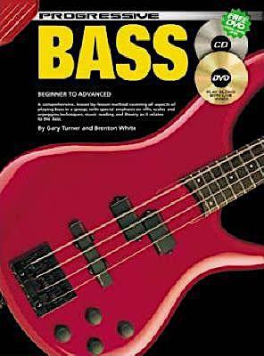 Progressive Bass Guitar - CD Pack