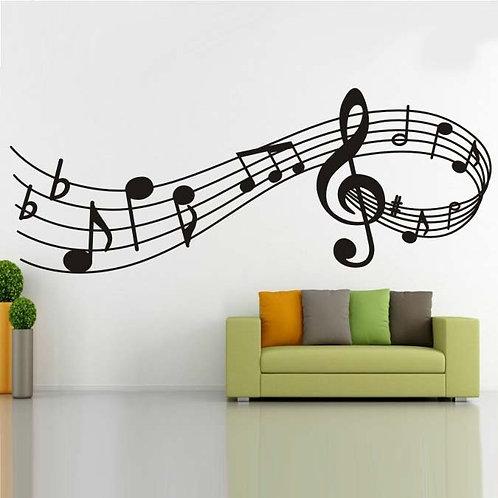 Music Staff Wallpaper