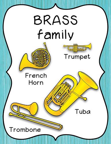 Brass Family Poster