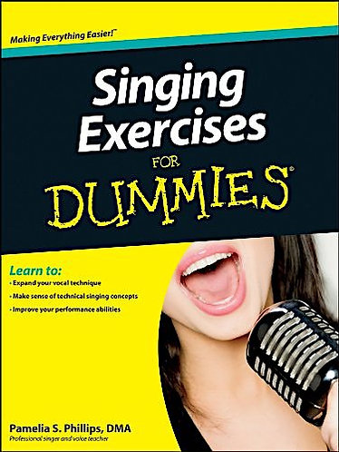 Singing Exercises For Dummies (Book/CD Set)