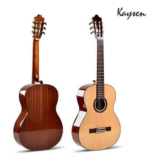 "Kaysen Classical Guitar (36"",39"" Spruce & Sapele Wood, W/O Pickup)"