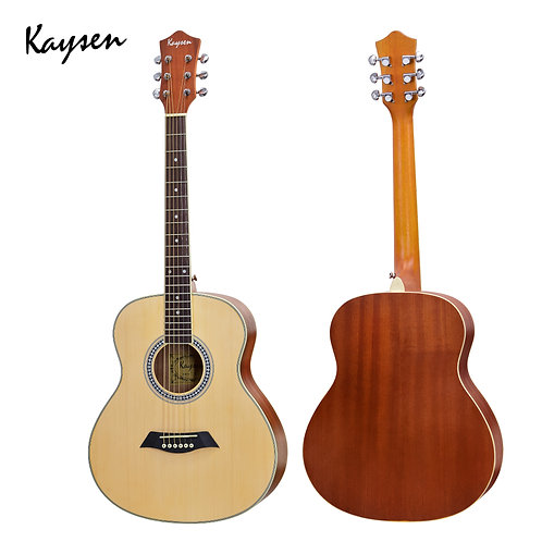 "Kaysen Acoustic Guitar (36"" Spruce/ Sapele Wood, W/O Pickup)"