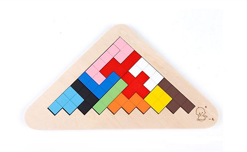 Triangle Puzzle Set